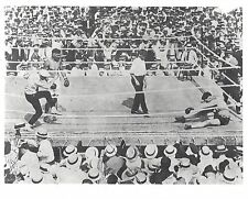 JACK DEMPSEY KO's JESS WILLARD 8X10 PHOTO BOXING PICTURE