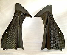 Yamaha R6 carbon air duct covers  2006  2007 yzf600 gbmoto