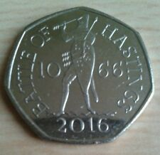 50p Coin Battle of Hastings x 1 Uncirculated