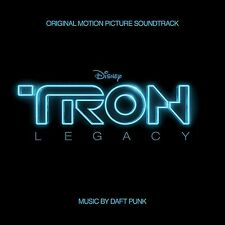 TRON LEGACY CD - ORIGINAL MOTION PICTURE SOUNDTRACK (2010) - NEW - DAFT PUNK