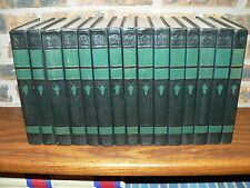 1947 Edition Compton's Pictured Encyclopedia & Fact-Index~Complete 15 Volume Set