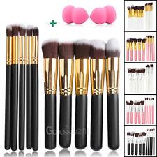 10Pcs Pro Makeup Brushes Set Kit Cosmetic Powder Foundation Eyeshadow Lip Brush