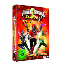 POWER RANGERS - SAMURAI COMPLETE Series Complete series DVD Box NEW