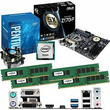 INTEL Pentium G4400 3.3Ghz & ASUS Z170-P & 32GB DDR4 2133 CRUCIAL Bundle