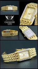 LUSSO Cavadini Orologio da donna con pietre Ermes molto carina DESIGN CON BOX-pappier