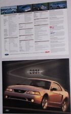 Lot of 2  2001 01 Ford Cobra SVT original brochures