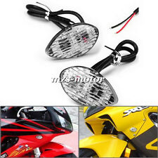 Flush Mount LED Turn Signal Lights For Honda CBR600RR 03-11 CBR600F4i 2001-2008