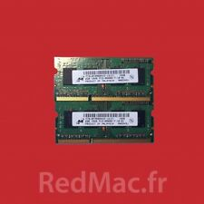 RAM 2x2GB 1Rx8 PC3-8500S pour Macbook Pro 13'' 15'' & 17''