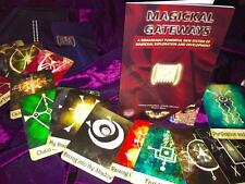 MAGICKAL GATEWAY CARDS SET Occult Magic Witchcraft Spells Grimoire Magick Wicca