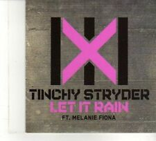 (DW309) Tinchy Stryder, Let It Rain - Ft Melanie Fiona - 2010 DJ CD