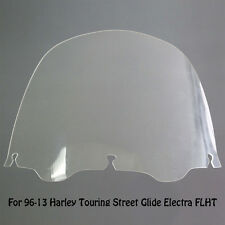13'' Clear Windshield For 96-13 Harley Touring Street Glide Electra FLHT New