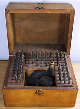 Antique Jeweler Watchmaker Deluxe Bayside Watch Tool Co Inverting Staking Set
