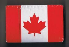 CANADA FLAG WITH MAPLE LEAF   - DECK OF 52 PLAYING CARDS + JOKERS UNUSED