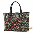 Chanel Coco St label line tote bag PVC black Free Shipping