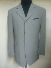 PULL BY PAL ZILERI PALE GREEN BLAZER 3 BUTTON CENTER VENT POLY/WOOL 40 R.