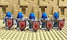 LEGO NEXO KNIGHTS™ Lot of 5 Fully-armed Knight mini figures Sword Shield