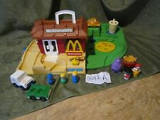 Fisher Price Little People Play Family McDonalds Restaurant 2552 Extra Grimace A