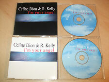 Celine Dion & R Kelly - I'm Your Angel (2 CD Set)  Ex Condition - Fast Postage