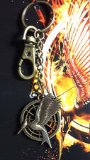 Hunger Games Catching Fire Mockingjay Bag Clip- Carded- FREE S&H (HGJW-60)