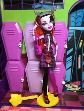 Monster High Doll - Operetta - Freaky Fusion Frankie Inspired - Great Condition