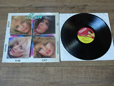 """POISON - LOOK WHAT THE CAT DRAGGED IN : EX+ UK 12"""" VINYL LP - MFN69 -PLAYS GREAT"""