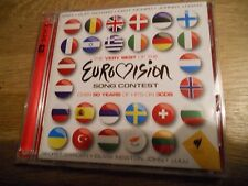 THE VERY BEST OF THE EUROVISION 3 X CD SET OVER 50 YEARS OF HITS ON 3 CDS RARE