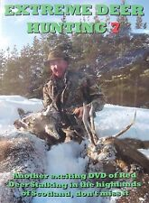 EDH 7 RED DEER STALKING HUNTING SHOOTING SCOTLAND DVD