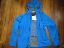 Men's Small Marmot Rincon Jacket Blue Waterproof Rainjacket, Free Priority Ship!