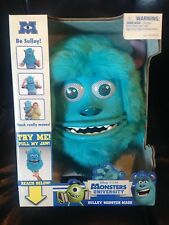 Disney Monsters University Sully Sulley Costume Mask Features Move New Blue NIB