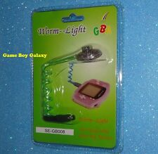 NEW Worm Light Nintendo Game Boy Advance system gba console led GET FAST - GREEN