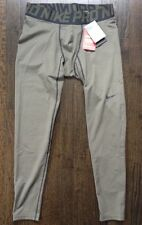*NWT* MEN'S NIKE PRO COMPRESSION PANTS DARK GEEN SIZE X-LARGE