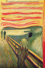 """The Scream"" or ""The Cry"" Edvard Munch, Reproduction in Oil,  24""x20"""