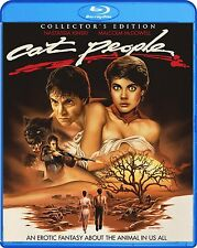 Cat People: Collector's Edition (Blu-Ray Movie, 1982 Erotic Fantasy Remake) NEW