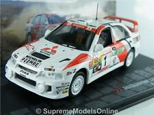 MITSUBISHI LANCER RALLY MAKINEN HARJANNE CAR 1/43RD SIZE MODEL VERSION R0154X{:}
