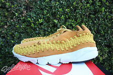 NIKE AIR FOOTSCAPE WOVEN CHUKKA NM SZ 8 DESERT OCHRE GOLD DART 875797 700