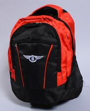 NEW BENTLEY BLACK BACKPACK BAG gt gtc continental arnage banner flag