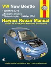 VW New Beetle Haynes Repair Manual for 1998 thru 2010 1.8, 2.0L, 1.9L TDI diesel