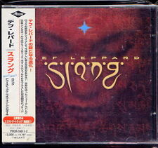 Def Leppard Slang +1 Japan 2 CD w/obi 1st press Limited Double CD PHCR-16011-2