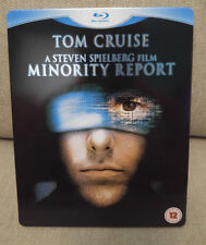 Minority Report Blu-Ray steelbook from the UK (region free)