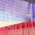 Special Silver Silk String Curtain Living Room/Door Partition Sheer Curtain