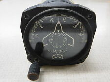 GE Buaer US Navy G-2 Compass Indicator Direction 1241-1 Parts Planes Aviation