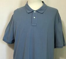 DKNY Mens Blue Polo Shirt 100% Cotton Short Sleeve Size XXL NEW