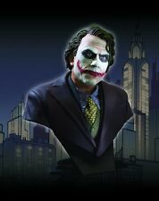 DARK KNIGHT~THE JOKER~HEATH LEDGER~1/2 SCALE~BUST~LE 2500~DC DIRECT~MIB