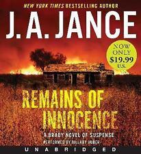 Remains of Innocence Low Price CD: A Brady Novel of Suspense Joanna Brady Myste