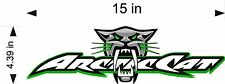 ARCTIC CAT BITE Logo Decal vinyl sticker graphic / snowmobile / window / trailer