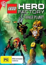 Lego Hero Factory: Savage Planet DVD NEW