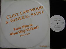 CLINT EASTWOOD & GENERAL SAINT Last Plane (Dub Mix) MCA 1984 PS