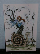 Amy Brown - The Great Snail - Mini Print