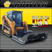 60 Inch Extreme Duty Brush Mower, 17-30 GPM Flow, Skid Steer Cutter Attachment