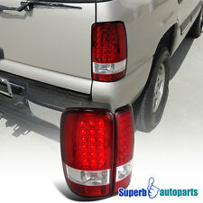 2000-2006 Yukon Denali Tahoe Suburban LED Tail Lights Brake Lamp Red